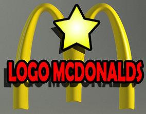 McDonalds Logo 3D model