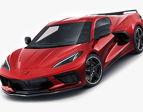 3D Corvette C8