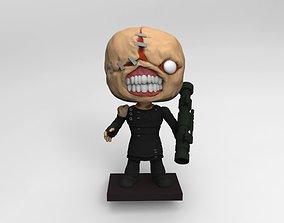 nemesis resident evil play 3D print model