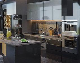 3D Kitchen Furniture III