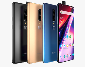 OnePlus 7 Pro and Pro 5G all colors 3D