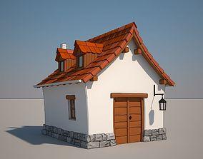 3D Cartoon Medieval School