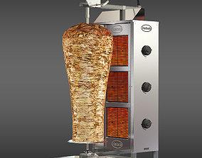Kebab machine model 3D