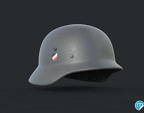 3D WW2 German helmet - Stahlhelm