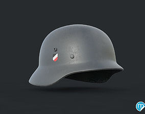 3D WW2 German helmet - Stahlhelm