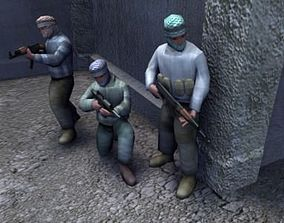 realtime Insurgent Game Models