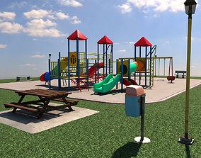 Scenic Playground 3D model