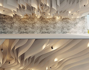 Suspended ceiling 19 3D model