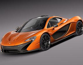 3D McLaren P1 concept 2013