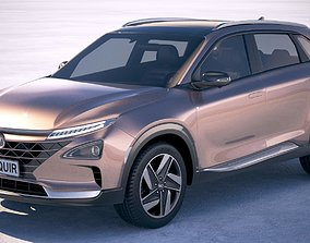 5door Hyundai Nexo 2019 3D model