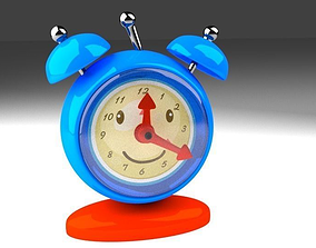 3D model Clock with a face