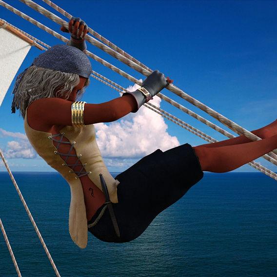A female sailor