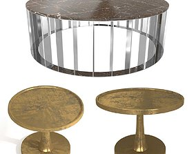 Two coffee tables 3D