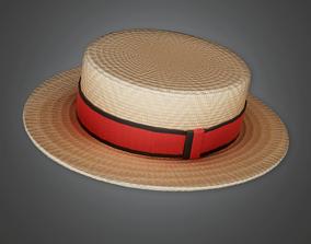3D model HAT - Skimmer Helmet - PBR Game Ready