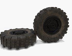 3D asset VR / AR ready wheel