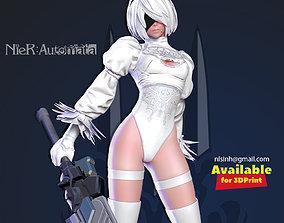 2B Nier - Automata White version 3D printable model