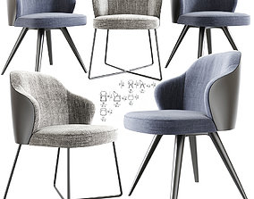 3D Leslie Dining Chairs