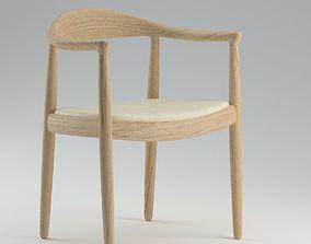 3D Hans Wegner Chair