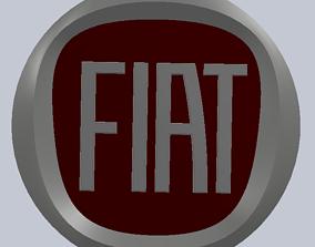 FIAT logo 3D printable model