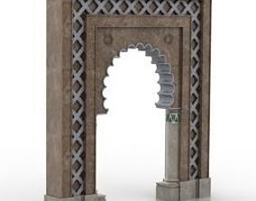Islamic architecture calligraphy 3D