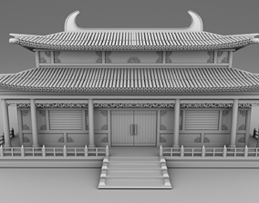 3D print model Chinese traditional house28