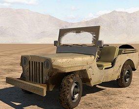 Jeep KM 3D model