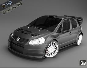 3D Suzuki SX 4 WRC special