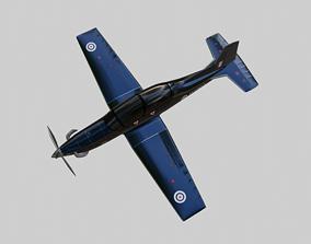 3D model BEECHCRAFT T-6 C - TEXAN-II aka TEXAN T1 -