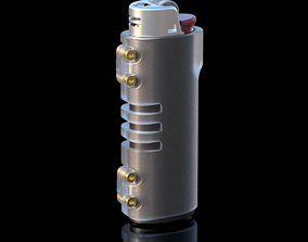 Bic Lighter Case 3D print model