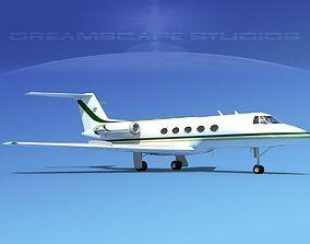 3D model Grumman Gulfstream C-IIB V07