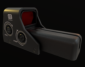 3D model low-poly Eotech Holographic Sight