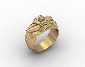 jewellery ring 3D print model man