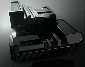 3D Hard Surface Model- Heavy Machinery