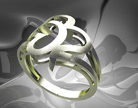 finger Plain Light Women Ring 3D printable model