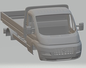 Fiat Ducato Body Truck Printable