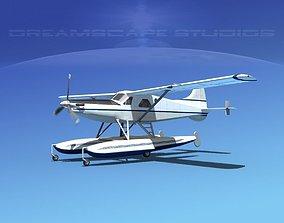 3D model DeHavilland DHC-2 Turbo Beaver V09