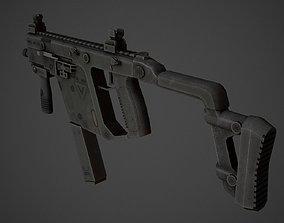 3D model KRISS Vector Low Poly