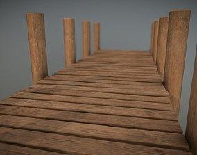 Lakeside Pier 3D model