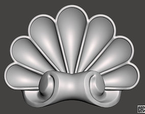 WoodCarving detail - 3d model for CNC - WCCFC0I
