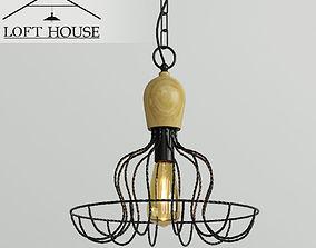 LOFT HOUSE 3D rigged lofthouse