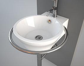 Althea Hera Center wash-basin 3D model