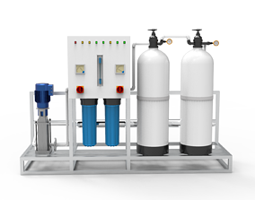 Reverse Osmosis Plant 3D model