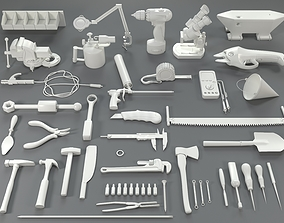Tools - 40 pieces - collection-4 3D