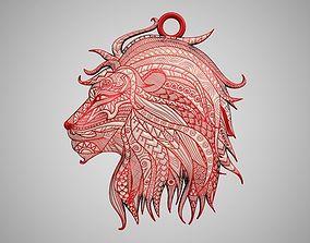Lion Necklace 3D printable model