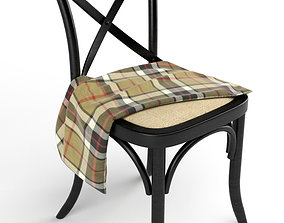 cross back chairs 3D