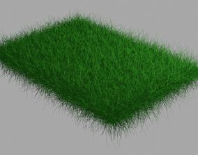VR / AR ready blender 3d model green grass