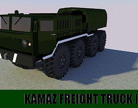 KAMAZ FREIGHT TRUCK 3D model