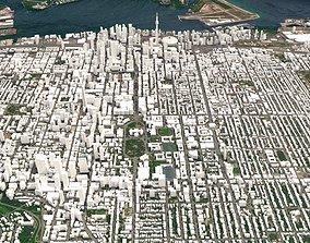 3D model Cityscape Toronto Canada