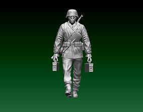 3D printable model Soldier German