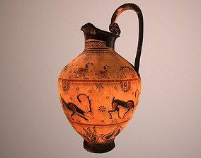 Trifoil vase 3D asset